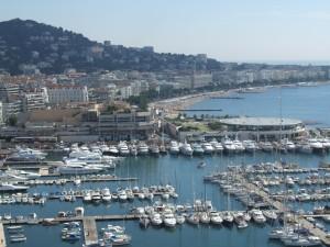 Cannes, La croisette le Port