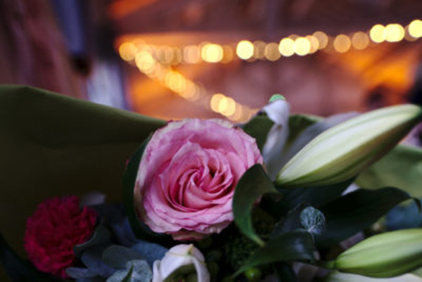 Wedding bouquet ceremony st tropez var